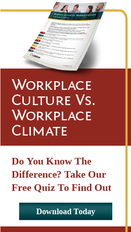 Workplace Culture vs. Climate Quiz