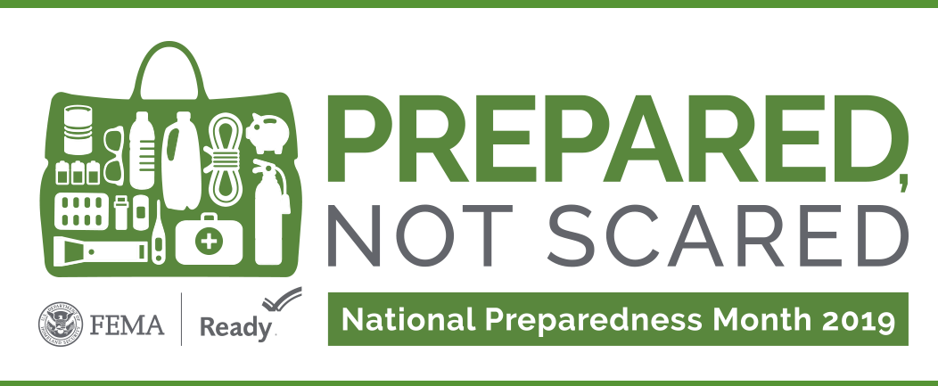 National Preparedness Month: At Home And Work