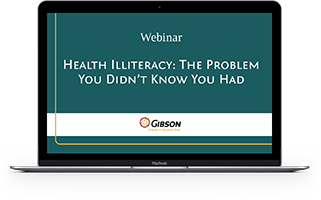 Health Illiteracy: The Problem You Didn't Know You Had